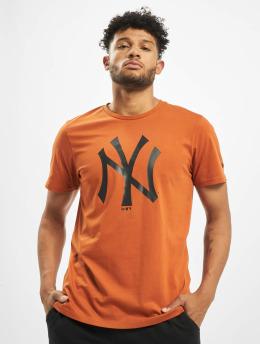 New Era T-Shirt MLB NY Yankees Seasonal Team Logo braun