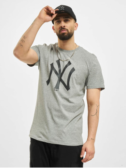 New Era T-Shirt MLB New York Yankees Seasonal Team Logo grey