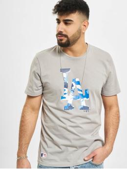 New Era T-Shirt MLB Los Angeles Dodgers gris
