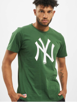 New Era T-Shirt MLB NY Yankees Seasonal Team Logo grün