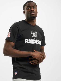 New Era T-Shirt NFL Oakland Raiders Fan noir