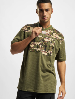 New Era T-shirt NFL Kansas City Chiefs Camo Infill Oversized Mesh  oliva