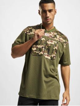 New Era T-Shirt NFL Kansas City Chiefs Camo Infill Oversized Mesh  olive