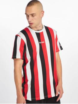 New Era T-Shirt Stripe schwarz