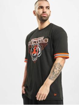 New Era T-Shirt NFL Cincinnati Bengals Stripe schwarz