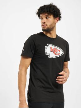 New Era T-Shirt NFL Kansas City Chiefs NE96196FA14 Team Logo schwarz