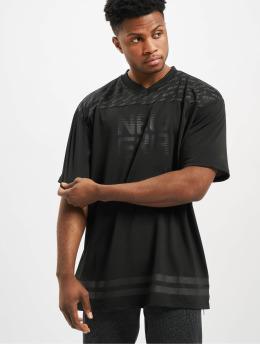 New Era T-Shirt Technical Oversized schwarz