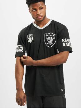 New Era T-Shirt NFL Oakland Raiders Oversized  schwarz