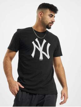New Era T-Shirt MLB Infill Team Logo New York Yankees schwarz