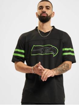 New Era T-shirt NFL Seattle Seahawks Outline Logo Oversized svart