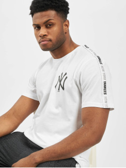 New Era T-Shirt MLB NY Yankees Sleeve Taping weiß