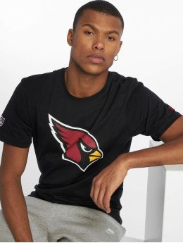 New Era t-shirt Team Arizona Cardinals Logo zwart