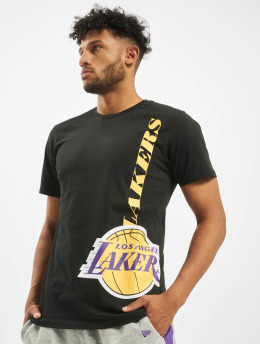 New Era t-shirt NBA LA Lakers Team zwart