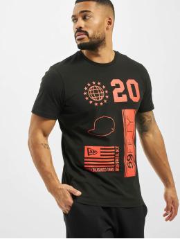 New Era t-shirt Graphic  zwart