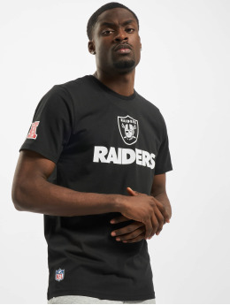 New Era t-shirt NFL Oakland Raiders Fan zwart