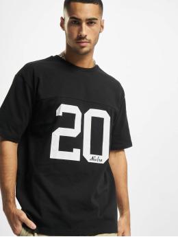 New Era t-shirt Heritage Oversized zwart