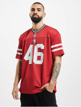 New Era T-Shirty NFL San Francisco 49ers Oversized Nos  czerwony