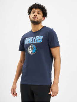 New Era T-Shirty NBA Dallas Mavericks Team Logo niebieski