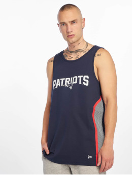 New Era Tank Tops NFL New England Patriots Mesh Print blau