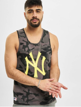 New Era Tank Tops MLB New York Yankees camouflage