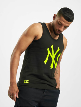 New Era Tank Tops NY Yankees Neon Logo czarny