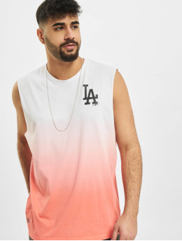 New Era Tank Tops MLB Los Angeles Dodgers Dip Dye pink