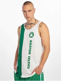 New Era Tank Tops NBA Boston Celtics Team Wordmark weiß