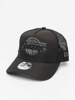 New Era Trucker Cap NBA LA Lakers Tonal Black AF black