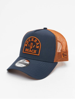 New Era Trucker Cap Rockbay Beach blau