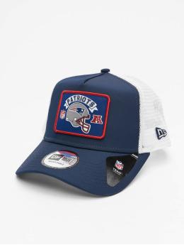 New Era Trucker Cap NFL New England Patriots Wordmark blau