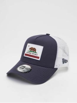 New Era Trucker Cap Us State blu