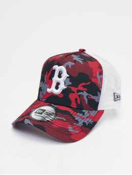 New Era Trucker Cap MLB Boston Red Sox Camo 9forty A-Frame camouflage