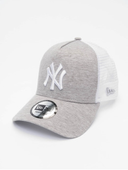 New Era Trucker Cap MLB NY Yankees Jersey grau