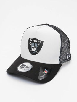 New Era Trucker Cap NFL Las Vegas Raiders Team Colour Block 940 AF  grau