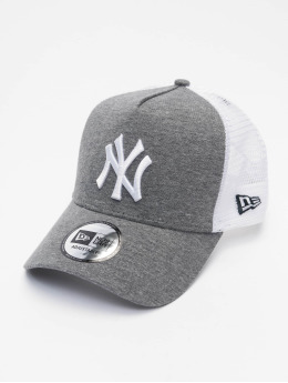 New Era Trucker Cap MLB New York Yankees Jersey 940 AF grau
