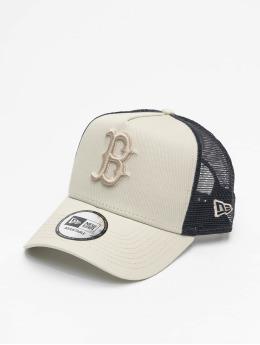 New Era Trucker Cap MLB Boston Red Sox League Essential A-Frame grey