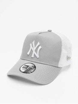 New Era Trucker Cap MLB NY Yankees Clean grigio