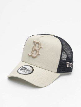 New Era trucker cap MLB Boston Red Sox League Essential A-Frame grijs