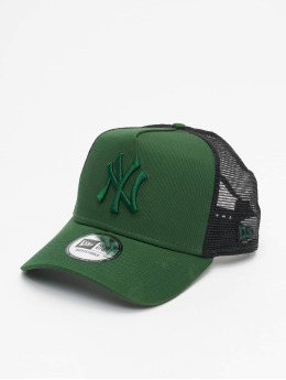New Era Trucker Cap MLB NY Yankees League Essential A-Frame grün