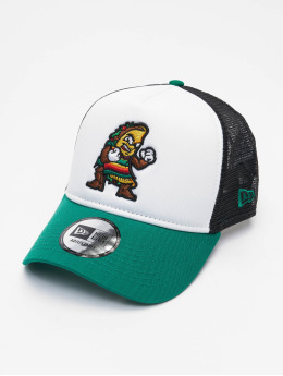 New Era Trucker Cap Minor League Fresno Grizzlies 9Forty grün
