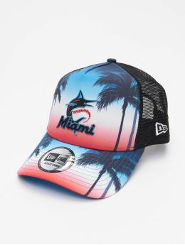 New Era Trucker Cap MLB Miami Marlins Summer City 9Forty schwarz