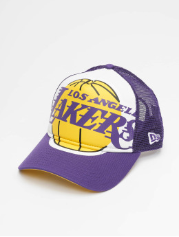 New Era Trucker Cap LA Lakers Retro Pack 9Forty AF violet