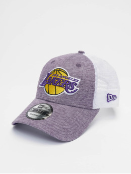 New Era Trucker Cap NBA Los Angeles Lakers Summer League 9forty violet
