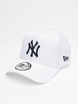 New Era Trucker Cap MLB NY Yankees League Essential white