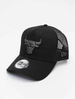New Era trucker cap NBA Chicago Bulls Bob Team zwart