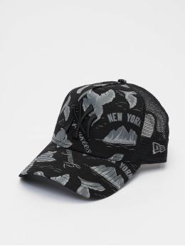 New Era Trucker Caps MLB NY Yankees Desert Island 9forty A-Frame čern
