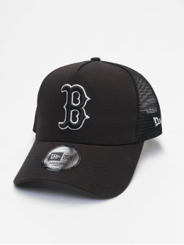 New Era Trucker Caps Mlb Properties Boston Red Sox Tonal Mesh čern