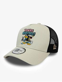 New Era Trucker Caps Warner Bros Daffy Duck Character 9Forty AF šedá