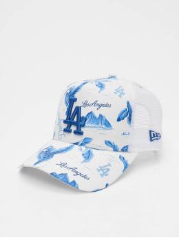 New Era Trucker Caps MLB LA Dodgers Desert Island 9forty A-Frame  bílý