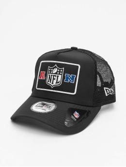 New Era Trucker Caps NFL Generic Logo Wordmark czarny